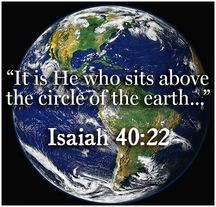 Isaiah 40:22