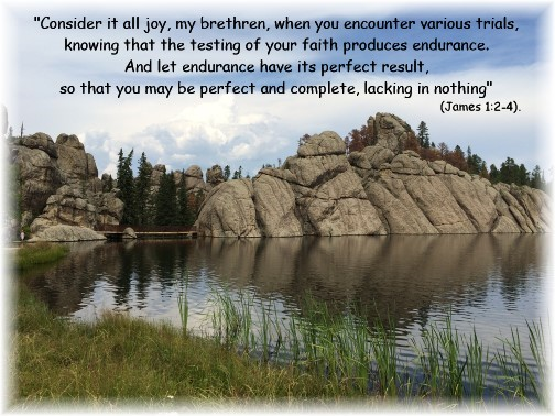 James 1:2-4, Sylvan Lake, SD (Photo by Chris Lehman)