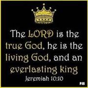 Jeremiah 10:10
