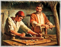 Jesus as carpenter