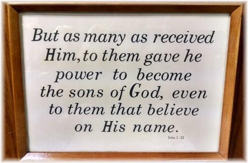 John 1:12 Kember print
