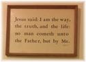 John 14:6 Kember print Newbury, MA