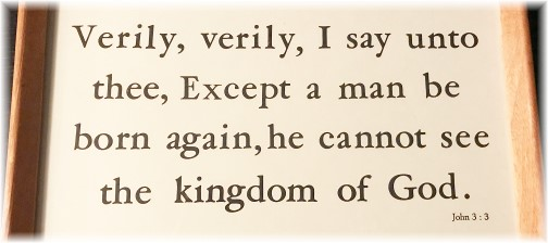 John 3:3 Kember print