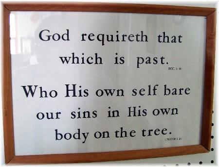 Photo of Walter Kember Scripture print