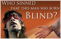 Man born blind