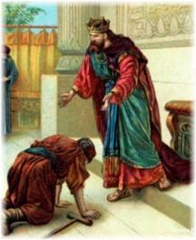 Mephibosheth with David