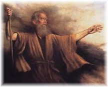 Moses preaching