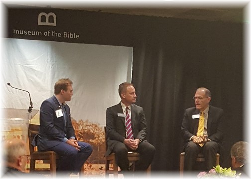 Museum of the Bible presentation (Eden Resort, Lancaster 5/16/16)