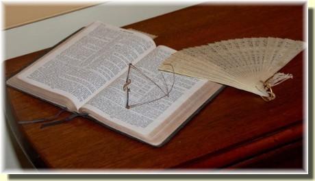 Open Bible (photo by Doris High)
