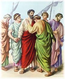 Paul's farewell to Ephesian elders