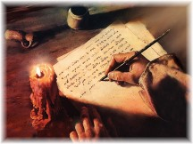 Prophet writing
