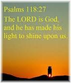 Psalm 118:27
