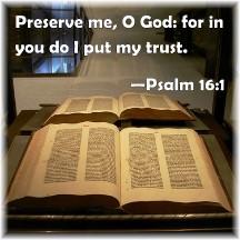 Psalm 16:1