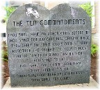 Ten Commandments, Faith and Action
