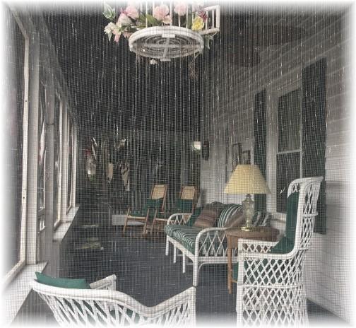 Rehoboth Beach DE house front porch 9/24/17