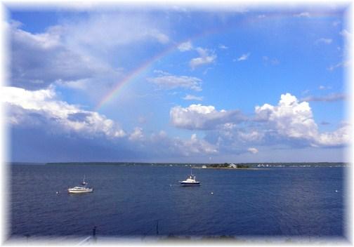 Cape Cod rainbow (photo by John Shields)