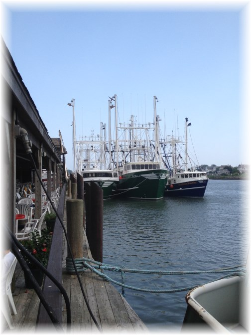 Cape May fishing fleet 7/15/14