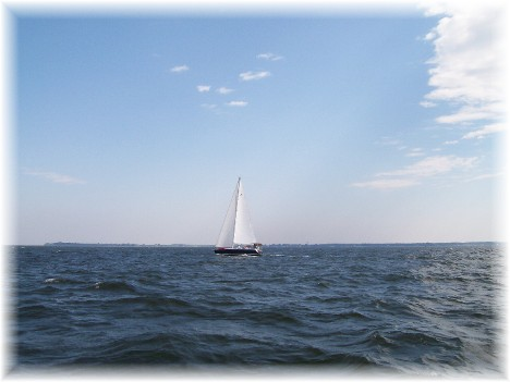 Sailboat on Chesapeake Bay 9/8/10