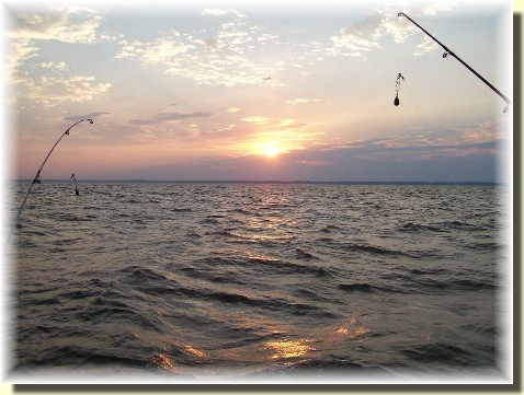 Sunrise over Chesapeake Bay 9/8/10