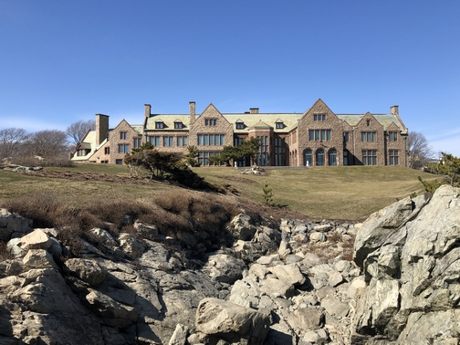 Cliff walk mansion, Newport, RI