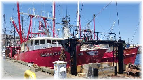 Hear No Evil in New Bedford harbor 6/18/16