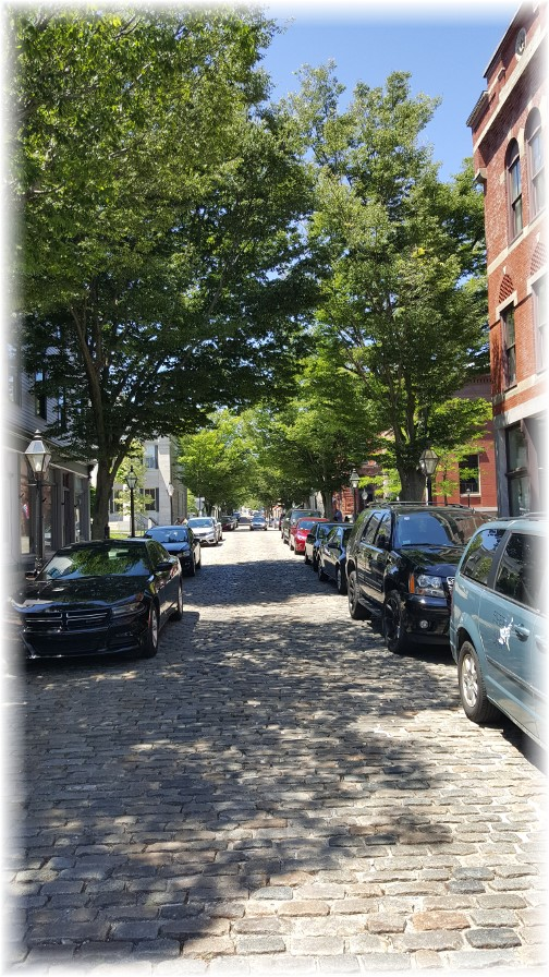 New Bedford, MA cobblestone Street 6/18/16