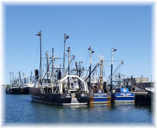 New Bedford fishing fleet 6/18/16