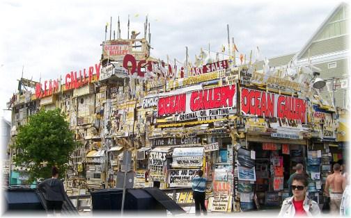 Boardwalk store in Ocean City MD