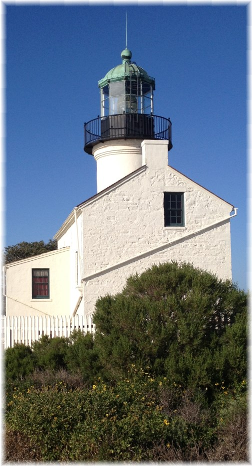 Old Point Loma Lighthouse, Point Loma, California