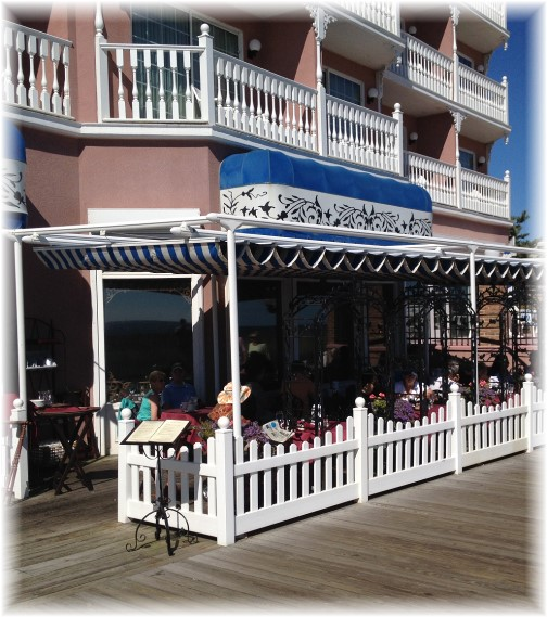 Boardwalk Plaza hotel on Rehoboth Beach boardwalk