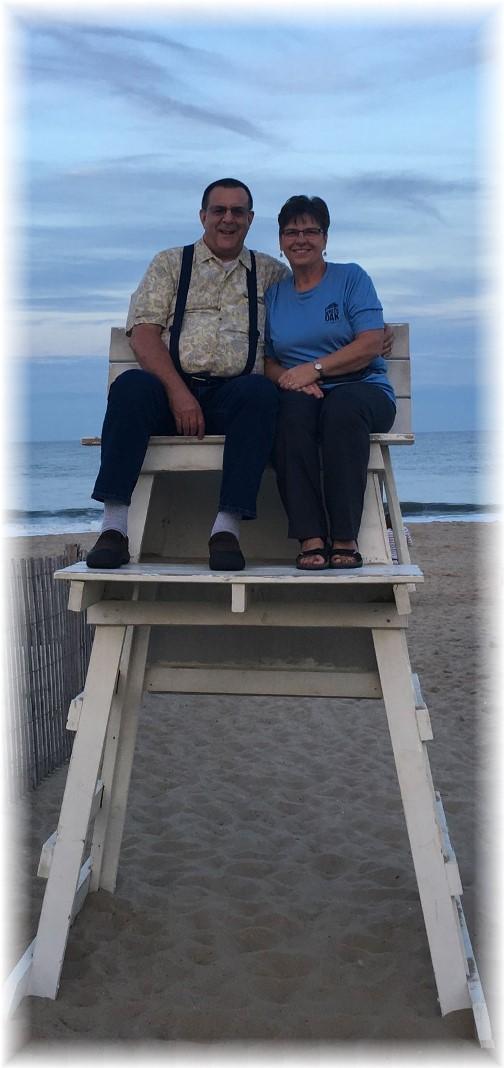 Rehoboth Beach lifeguard stand 9/22/17