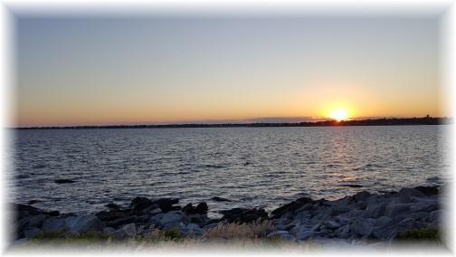 Sunset from Sachuest Point, Rhode Island 6/17/16