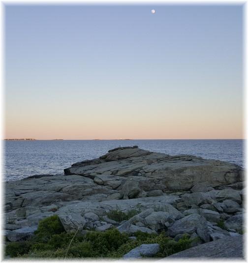 Ocean view on Sachuest Point, Rhode Island 6/17/16