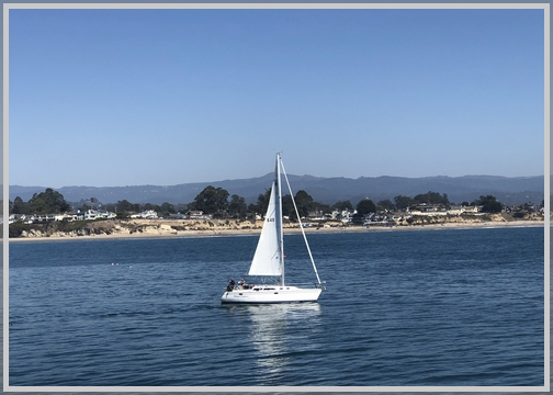 View from Santa Cruz pier 10/20/18