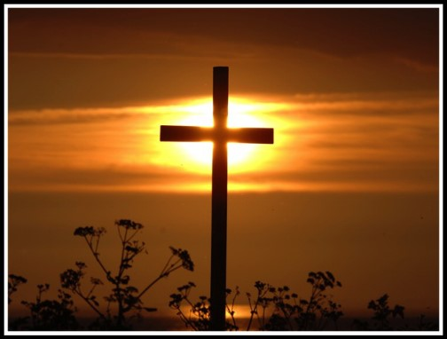 Sun on the cross (photo by Steve Rebus http://steverebus.com/rebus-photography/
