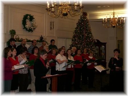 Choir at Longwood 2008