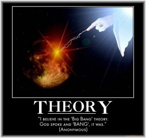 Big Bang=Creation