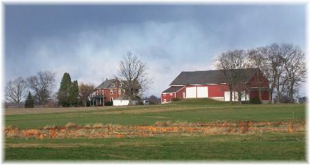 Field pumpkins in Lancaster County PA