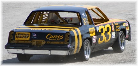 Race car with Acts 20:34