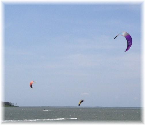 Assateague Island parasailing