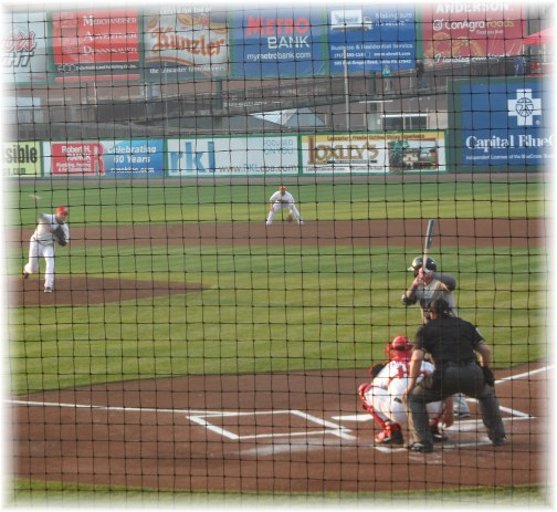 Lancaster Barnstormer 2013 opening game 4/18/13