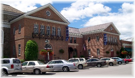 Baseball Hall Of Fame in Cooperstown, New York