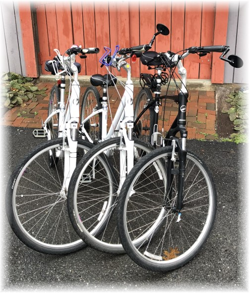 Bikes ready for 2018 riding season 4/14/18