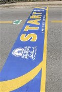 Boston Marathon starting line