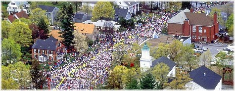Hopkinton MA start of Boston Marathon