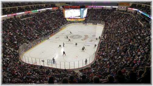 Hershey Bears hockey game 10/17