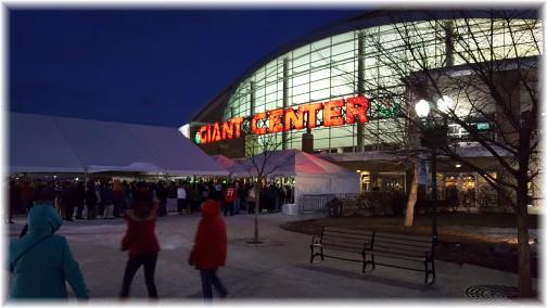 Hershey Bears Hockey Game (Giant Center) 1/7/17