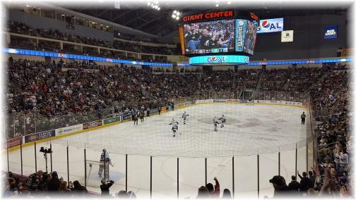 Hershey Bears Hockey Game 1/7/17