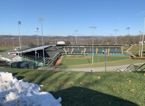 Little League world series stadium, Williamsport, PA 12/7/19 (Click to enlarge)