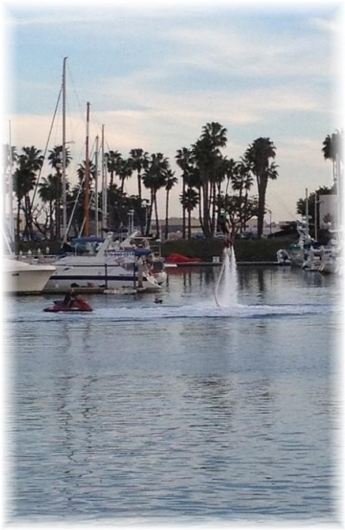 Flyboard, new water sport